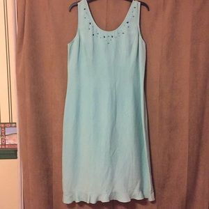 Linen dress (fully lined/beautiful)